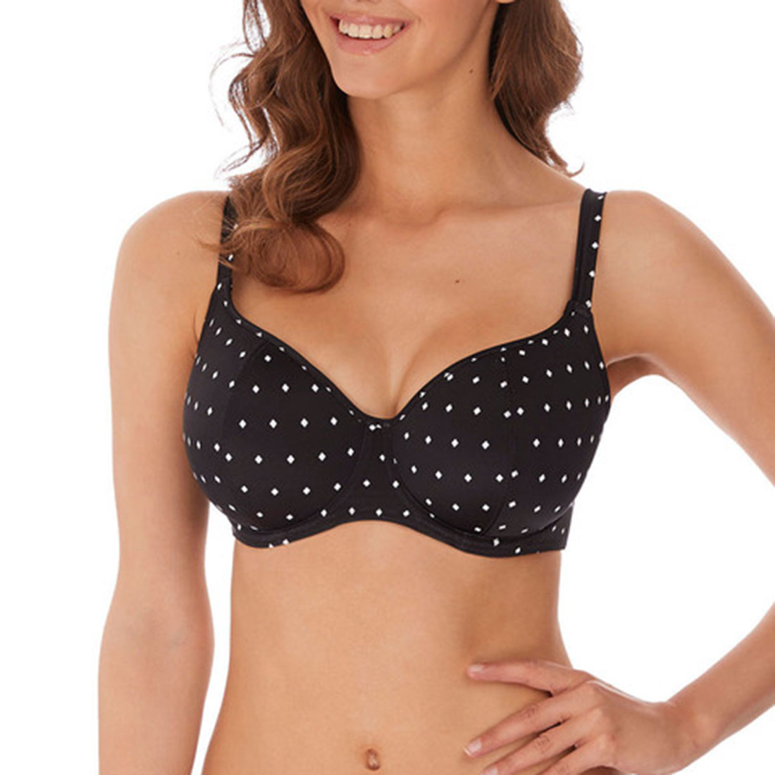Jewel Cove Sweetheart Padded Bikini Top