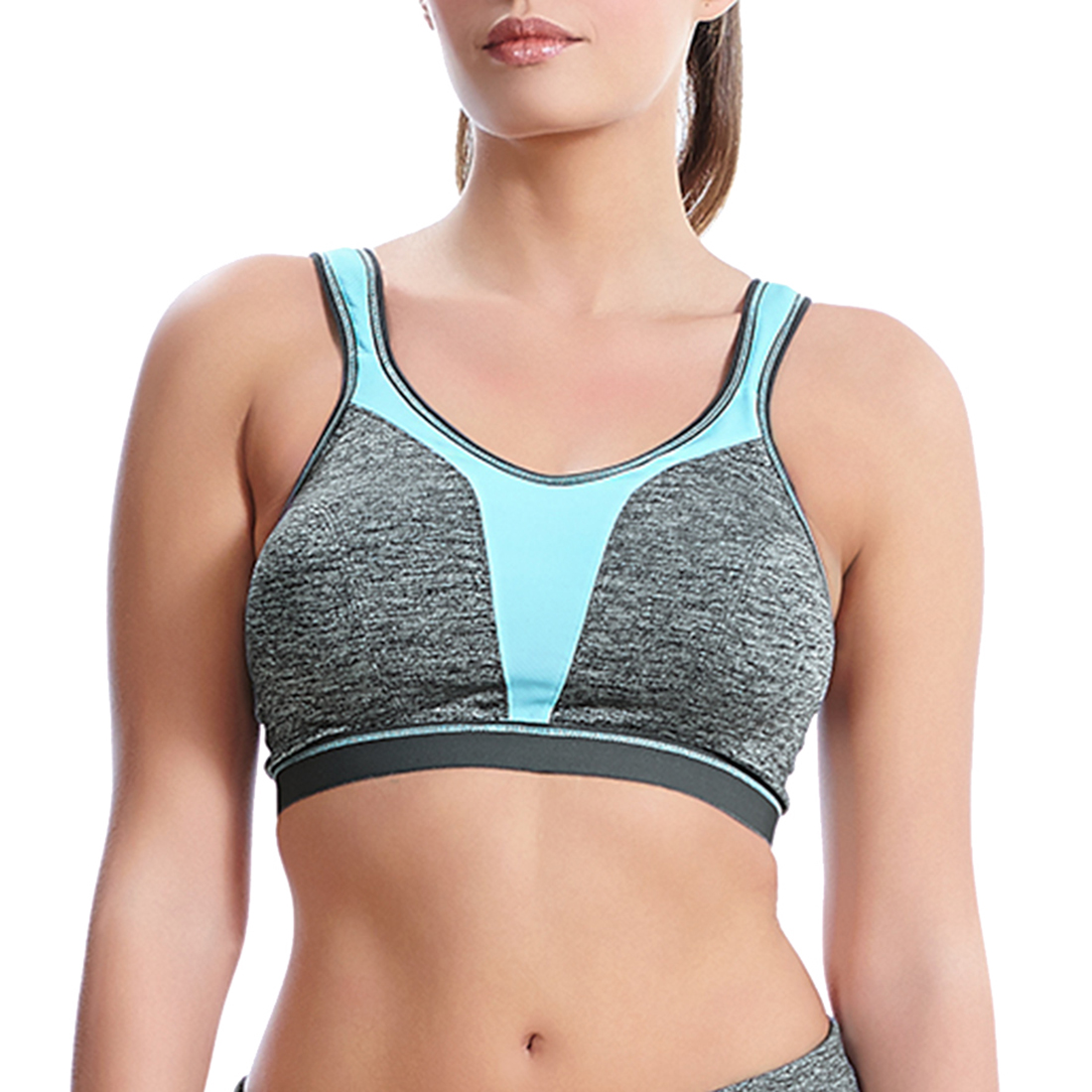 39f35d21bae Force Crop Top Soft Cup Sports Bra by Freya Active