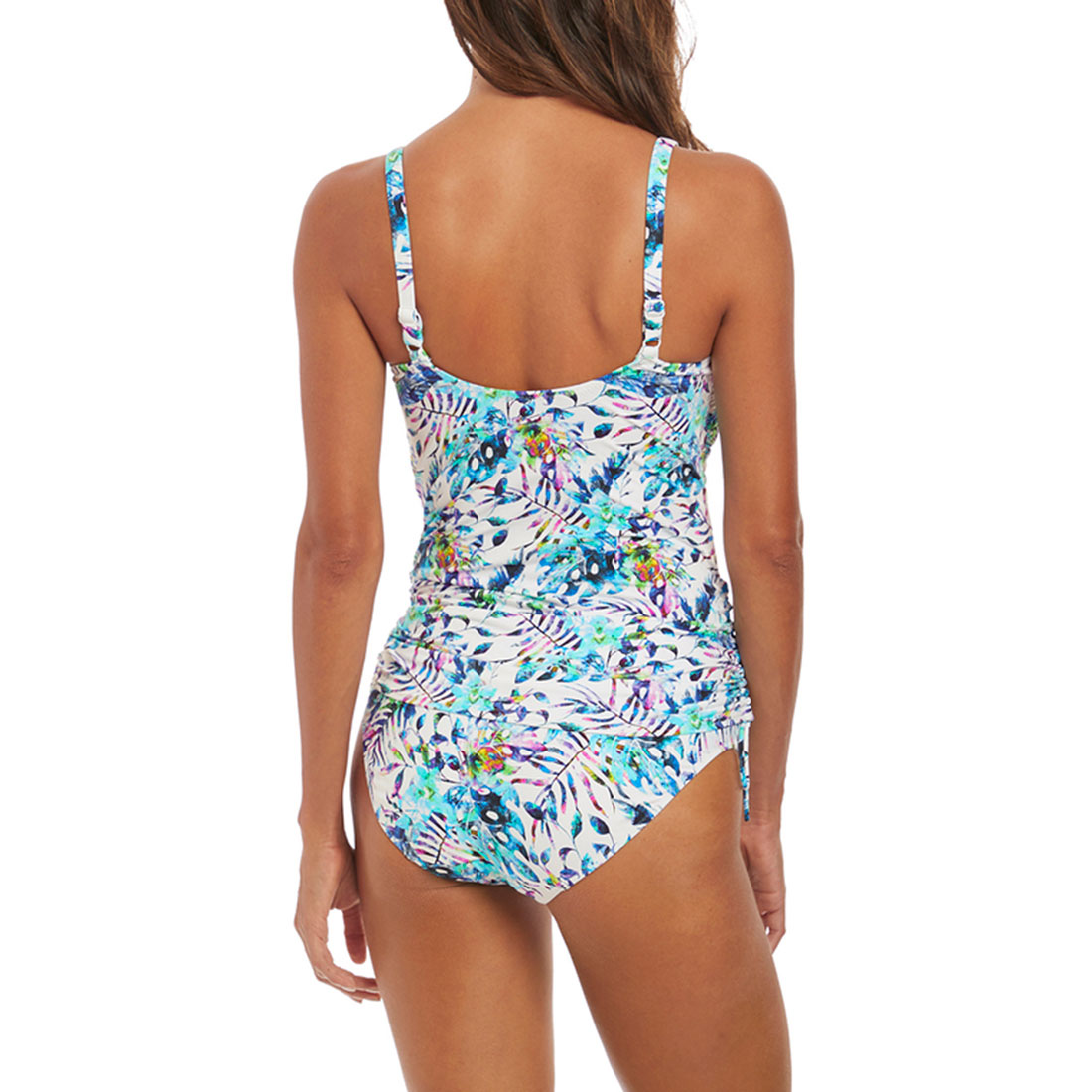 Fiji Tankini With Adjustable Sides