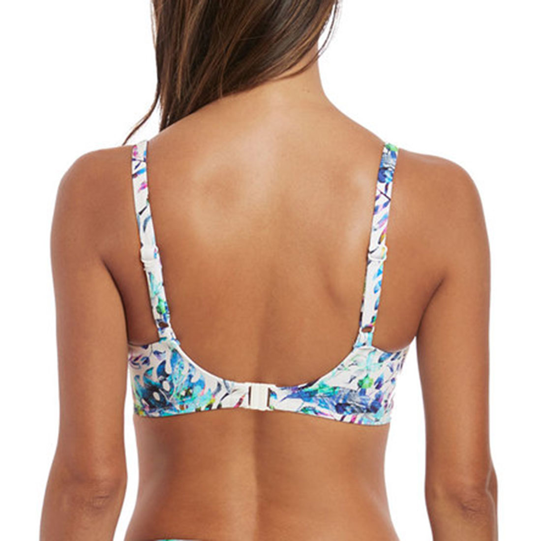 Fiji Gathered Full Cup Bikini Top