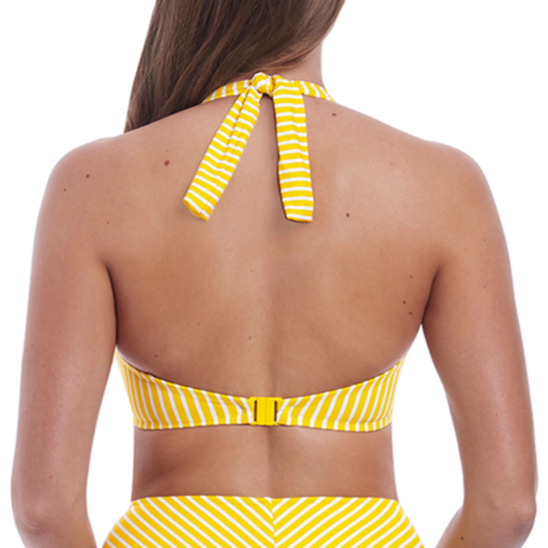 Beach Hut UW Bandless Halter Bikini Top